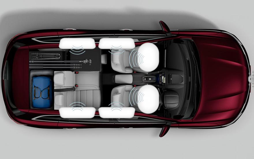 Koleos Airbags for everyone