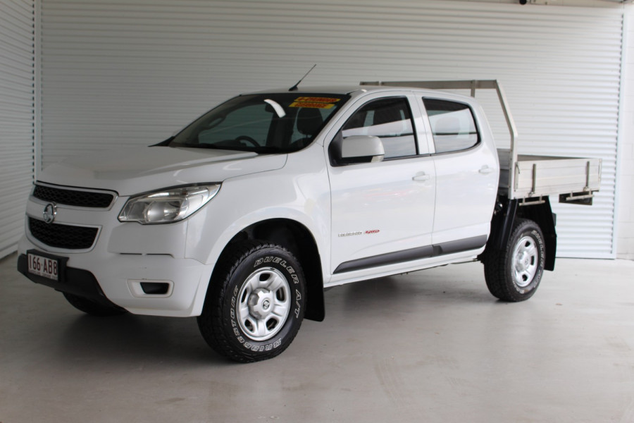 2016 Holden Colorado RG MY16 LS Cab chassis Image 4