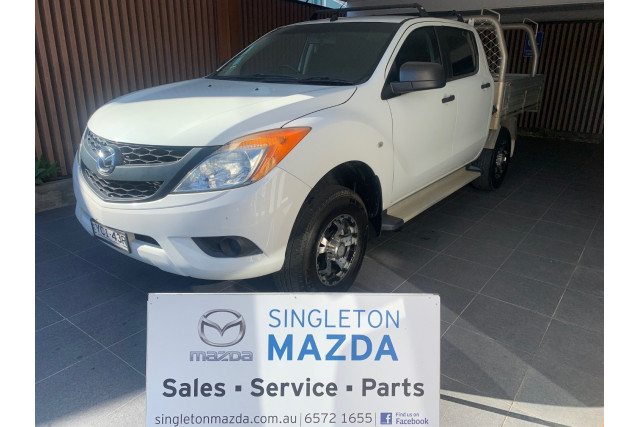 2014 Mazda BT-50 UP0YF1 Cab chassis