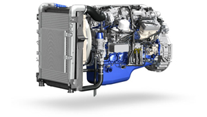 The new Volvo FE The Volvo D8K Engine. Unrivalled Power and Peformance.