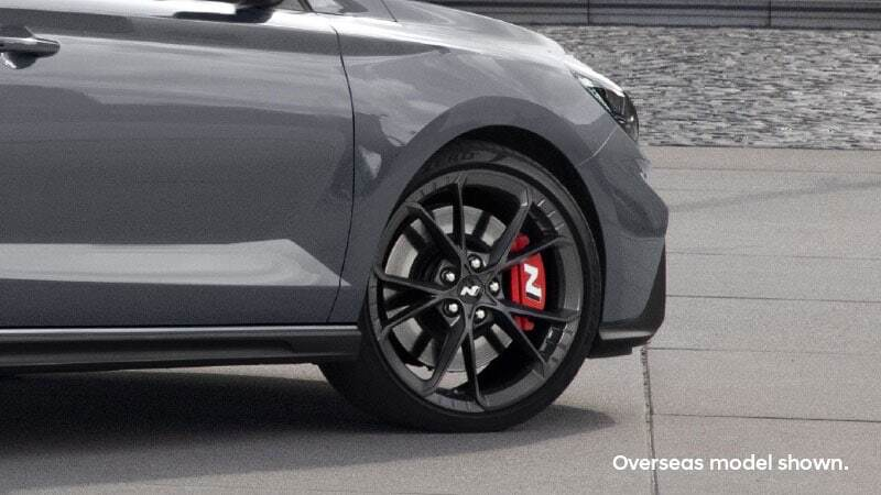 High performance brakes. Image