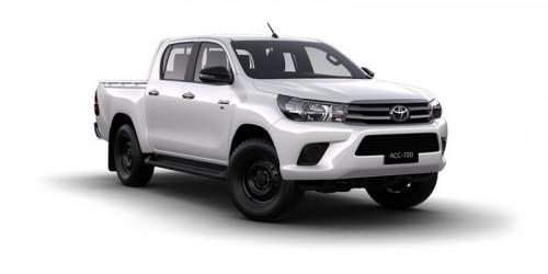 2018 Toyota HiLux GUN SR 4x4 Double-Cab Pick-Up Utility