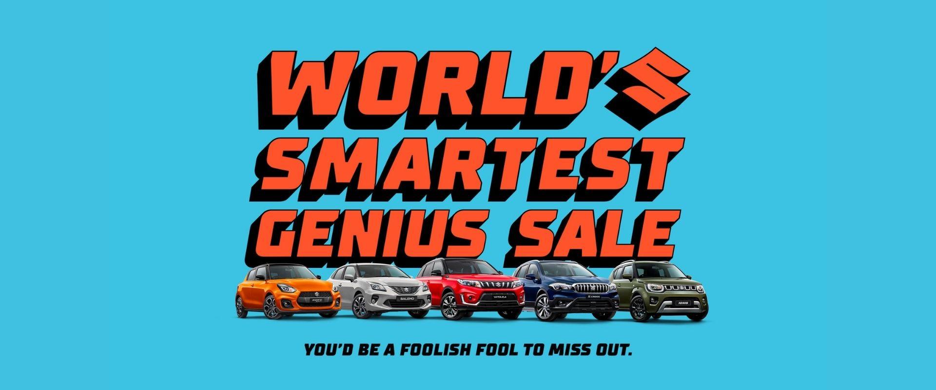 Suzuki World's Smartest Genius Sale