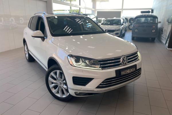 2016 MY17 Volkswagen Touareg 7P  V6 TDI Suv