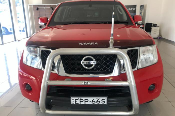 2012 Nissan Navara D40 S6 MY12 ST Utility Image 2