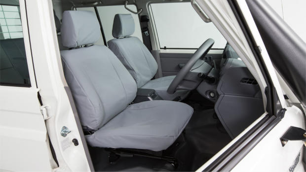 LC79 Toyota Genuine canvas seat covers