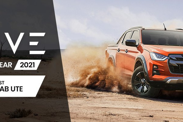 Isuzu D-MAX Wins 2021 Drive Car Of The Year - Best Dual Cab Ute Award