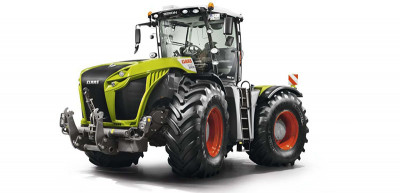 New CLAAS XERION 5000-4000