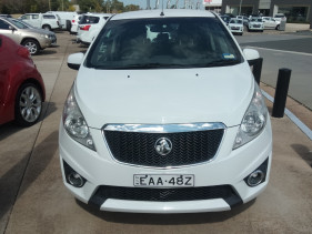 2011 Holden Barina Spark MJ MY11 CD Hatchback