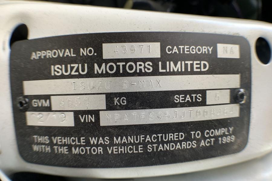 2018 Isuzu Ute D-MAX MY18 SX Dual cab Mobile Image 15