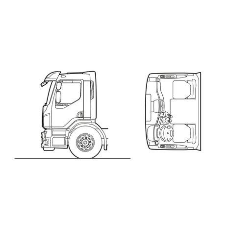 Volvo FE Day cab