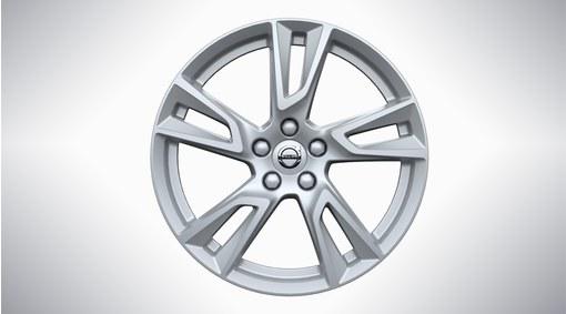 """18"""" 5-Double Spoke Silver Alloy Wheel - 148"""