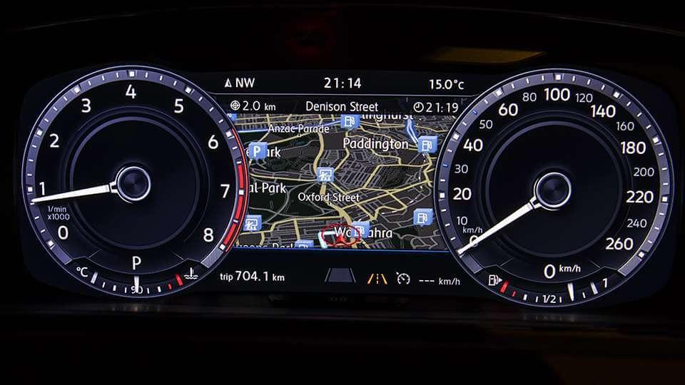 Optional Active Info Display Image