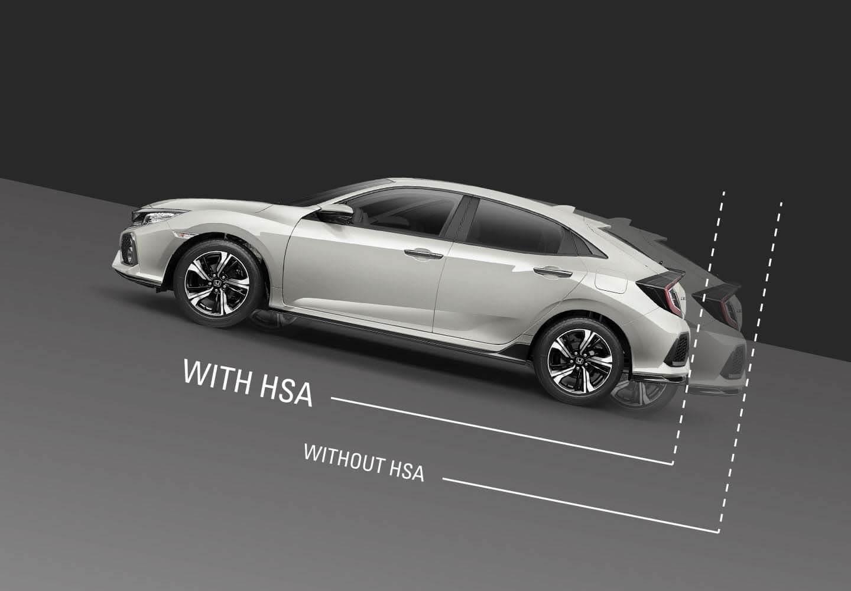 Civic Hatch Hill Start Assist (HSA)