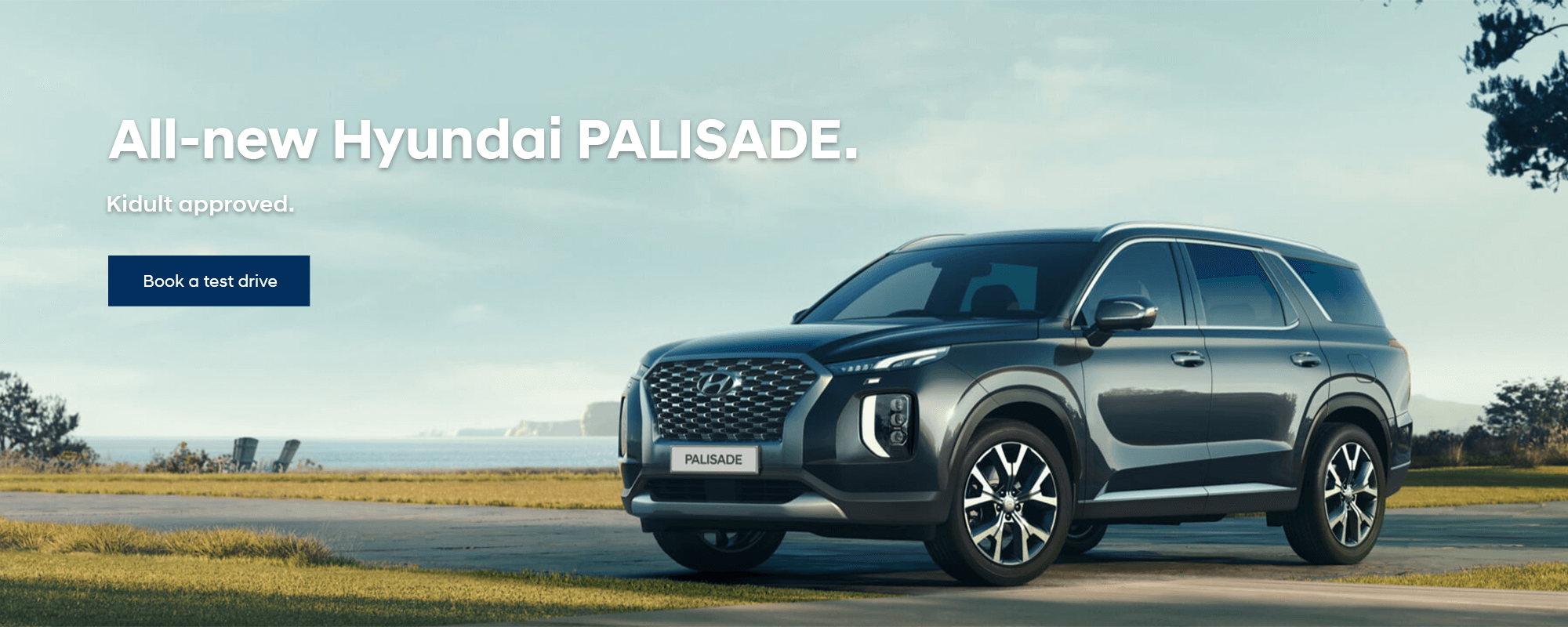 The All-New Hyundai PALISADE. Kidult approved.