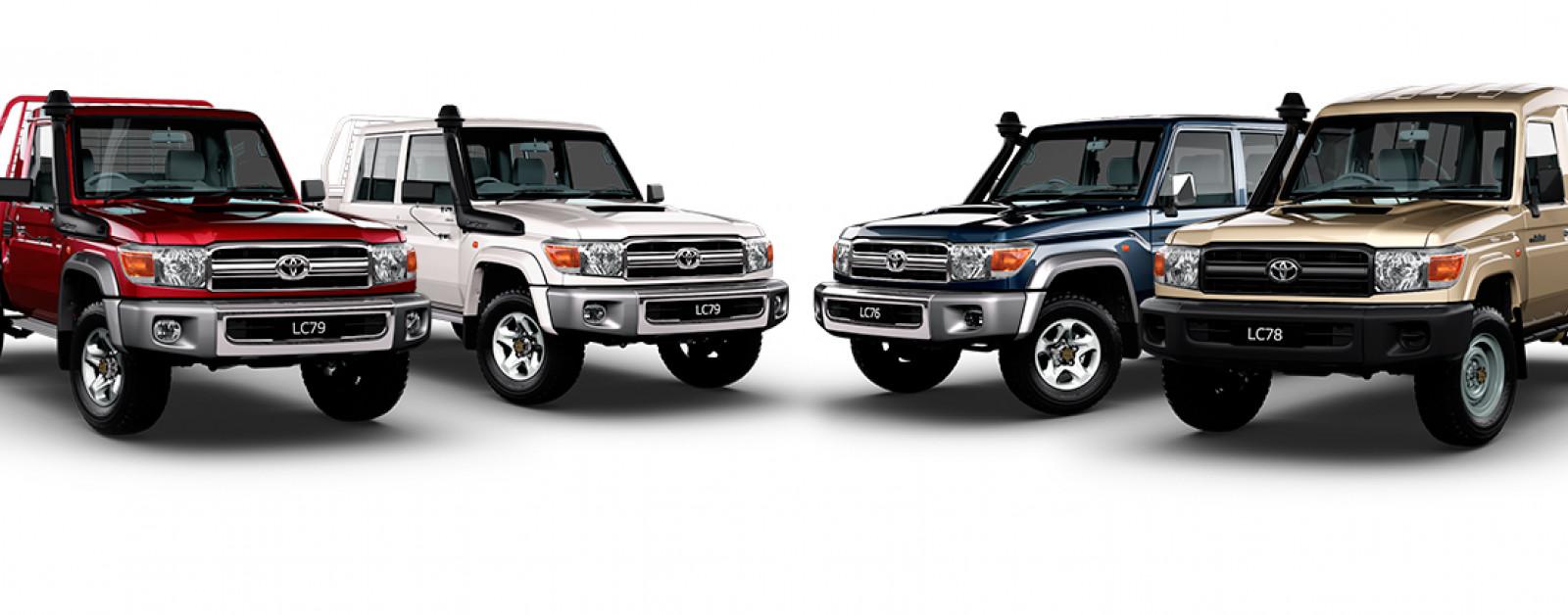 New Toyota LandCruiser 70 for sale - Cessnock Toyota