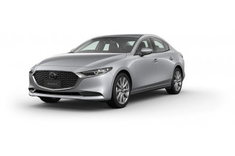 2020 Mazda 3 BP G20 Touring Sedan Sedan Image 2