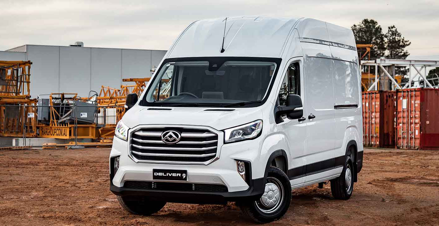 Deliver 9 Large Van The Deliver 9 puts a priority on safety