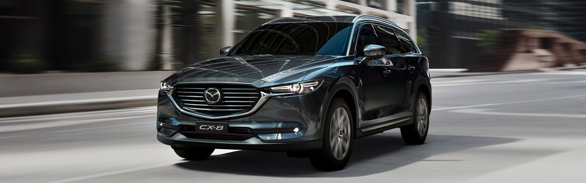 CX-8 DESIGNED WITH THE FUTURE IN MIND