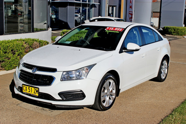 2015 MY16 Holden Cruze JH Series II  Equipe Sedan