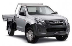 New Isuzu UTE 4x4 EX Single Cab Chassis