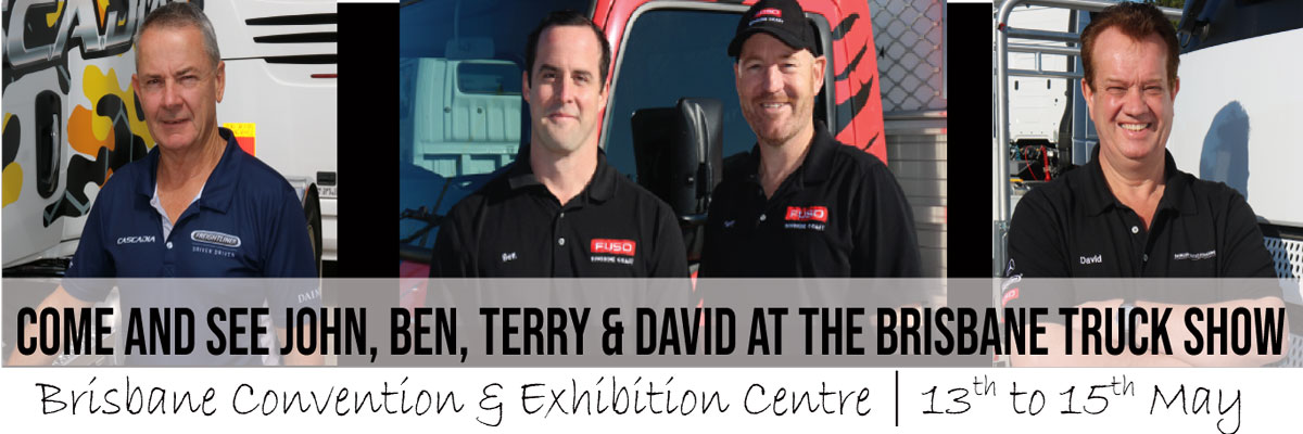THE BOYS ARE HEADING TO THE BRISBANE TRUCK SHOW