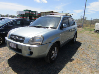 2008 MY07 Hyundai Tucson JM MY07 CITY Suv