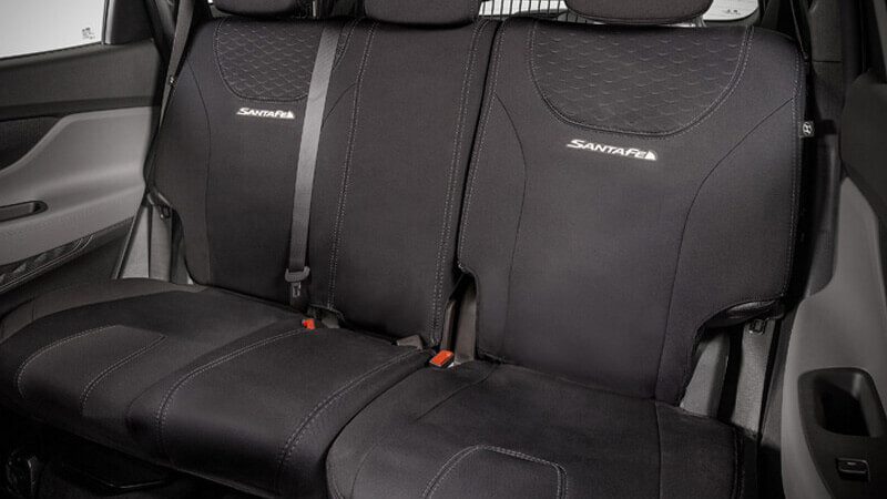 Neoprene rear seat covers