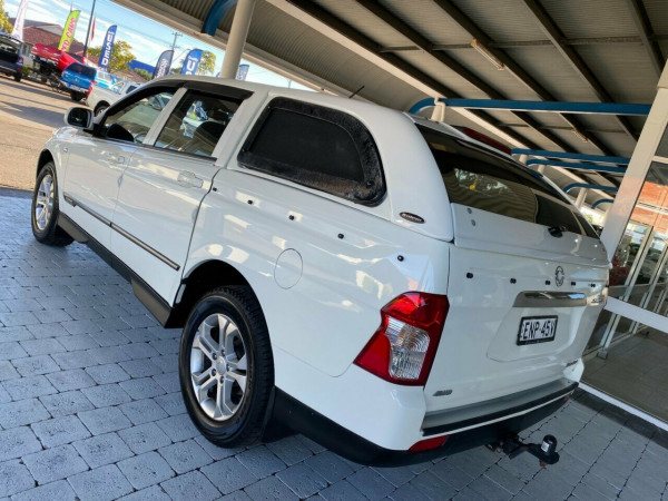 2012 SsangYong Actyon Sports Q150  SPR SPR Ute