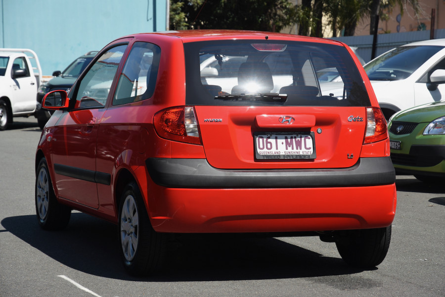 2009 Hyundai Getz TB MY09 SX Hatchback