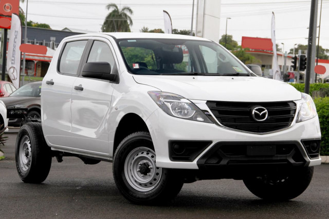 2019 Mazda BT-50 UR 4x4 3.2L Dual Cab Chassis XT Cab chassis