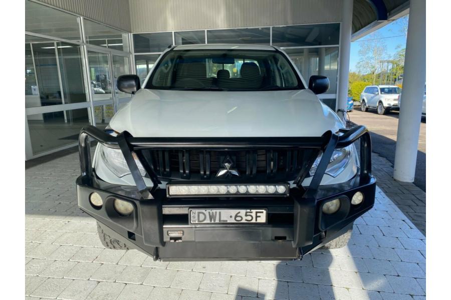 2017 MY18 Mitsubishi Triton MQ  GLX Ute