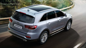 Sorento Adventurer and Distinctive by Design
