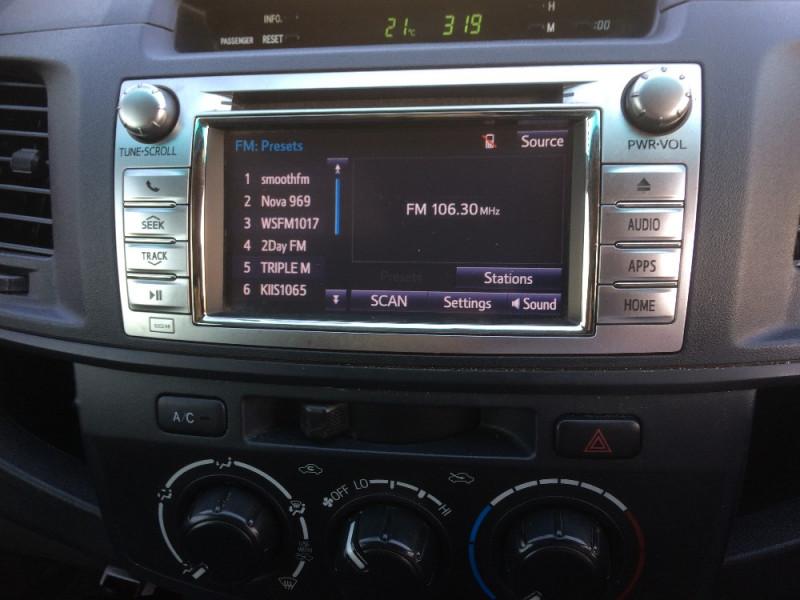 2014 Toyota HiLux KUN26R Turbo SR 4x4 c/c workbdy