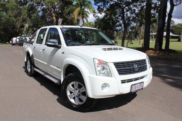 2008 Holden Rodeo RA  LT 60th Anniv Utility Image 2